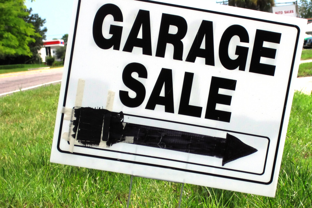 rummage sales