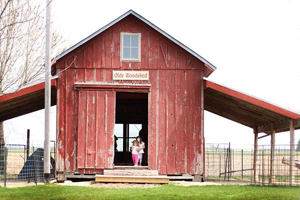 Mulberry Lane Farm Woodshed