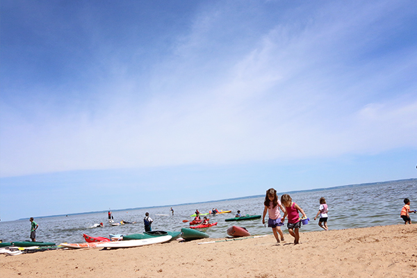 Lake Winebago, Menominee Park Beach