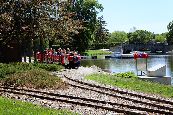 Menominee Park Train