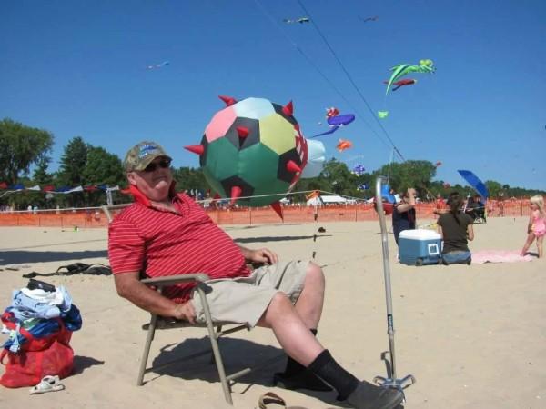 Kites Over Lake Michigan Two Rivers