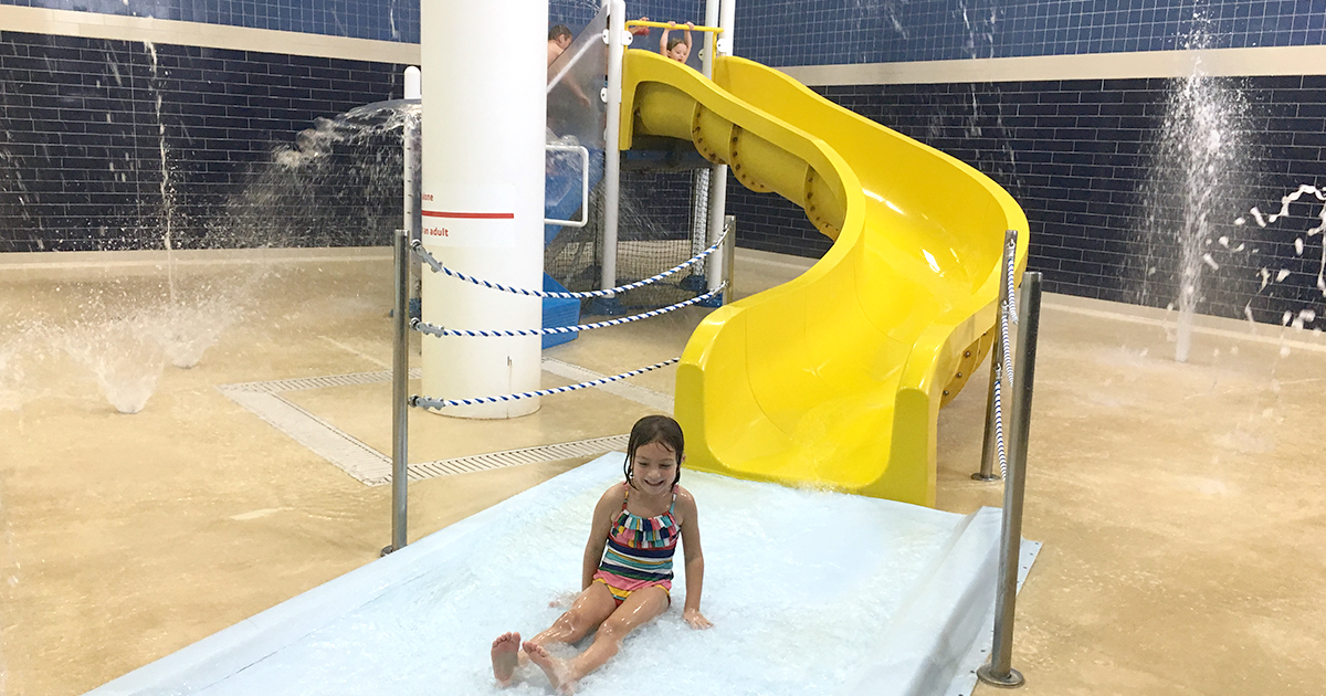 YMCA Appleton Splash Pad