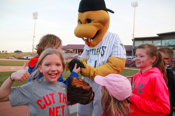 Wisconsin Timber Rattlers Birthday Party