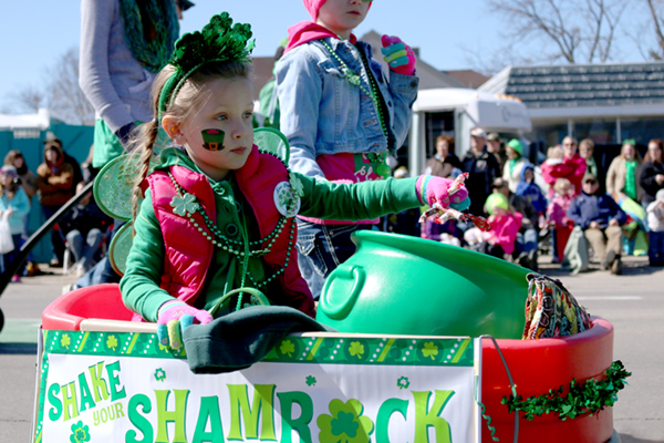 New London St. Patrick's Day Parade