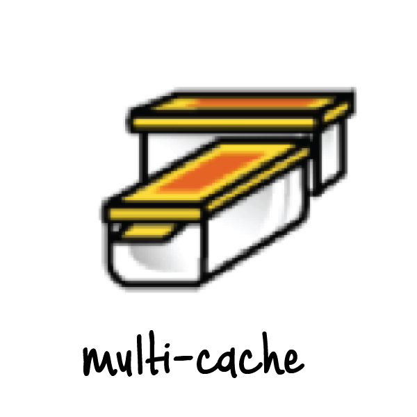 multi cache