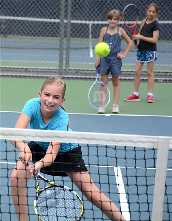 Oshkosh YMCA tennis lessons