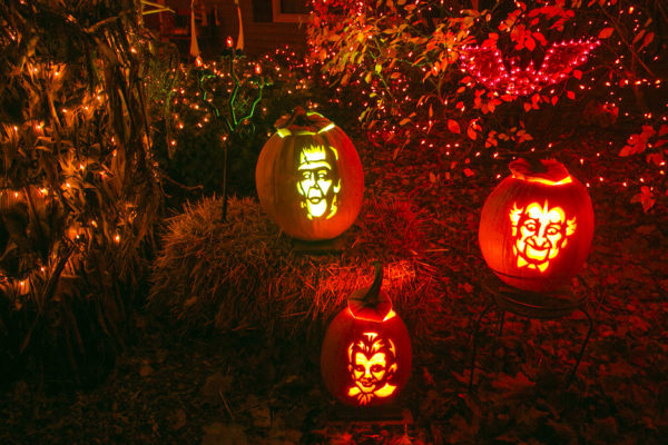 Rades Pumpkin Display
