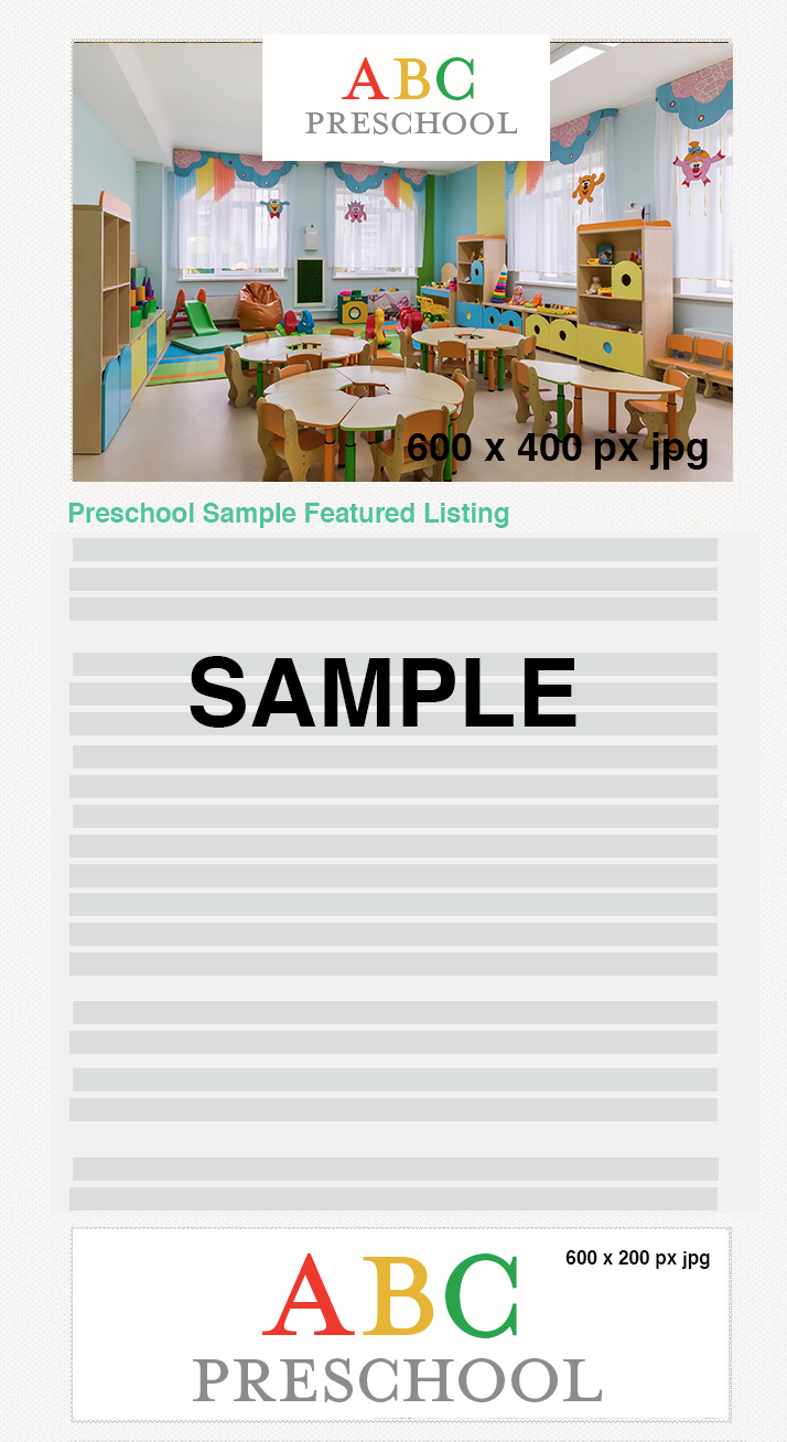 Preschool Guide Sample