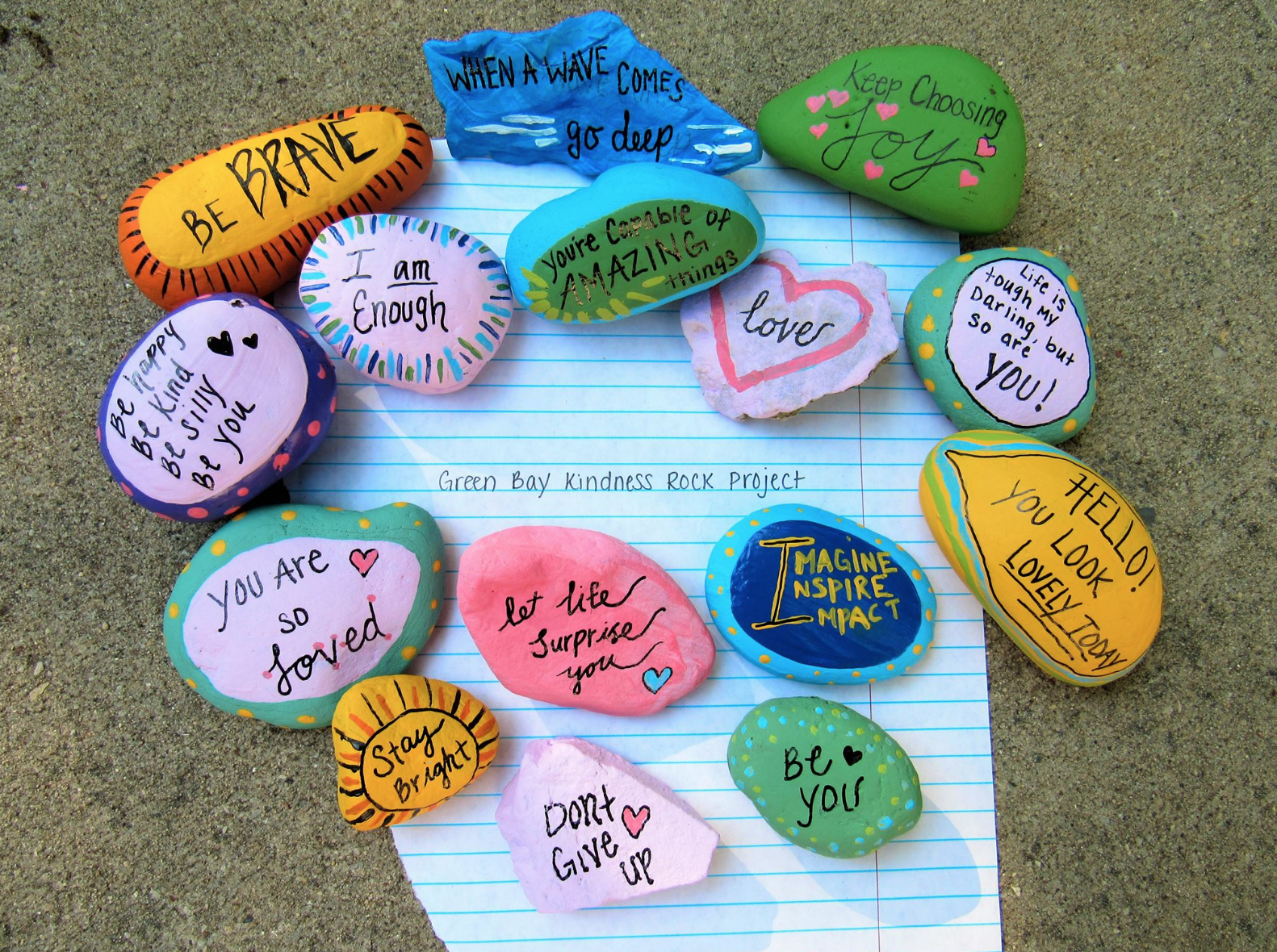 Green Bay Kindness Rock Project