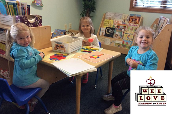 wee love preschool, neenah