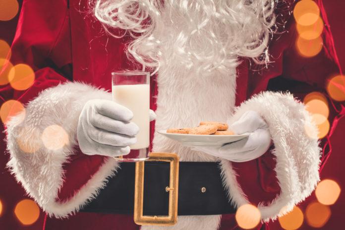 Santa Breakfast and Cookies