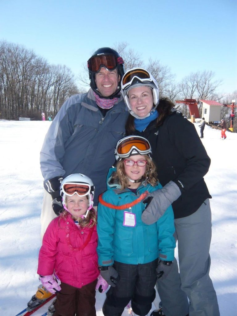 skiing-family