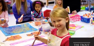Summer Art Camps at Trout Museum of Art