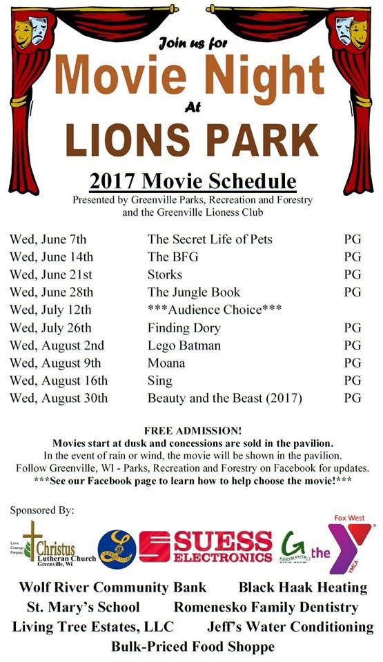 Movie Night at Lions Park