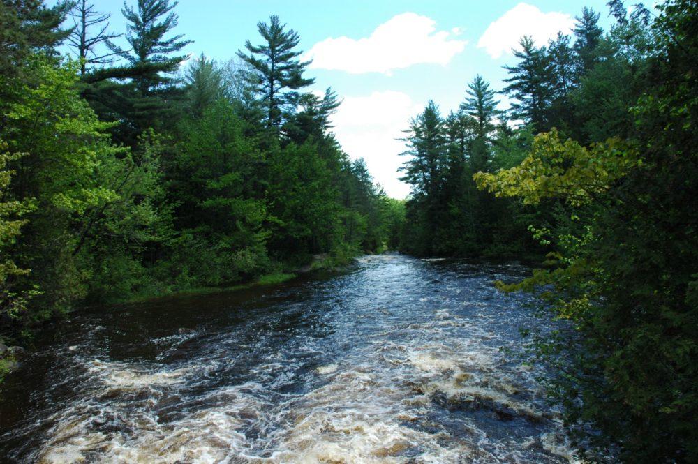 Dave's Falls, Amberg, Wisconsin