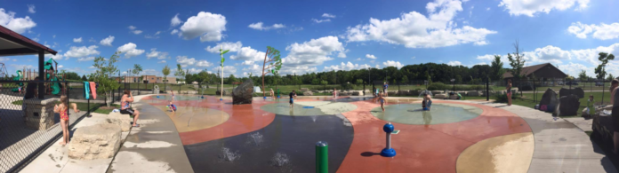 Sherwood Splash Pad