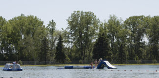 Beach Inflatables at Marble Park Winneconne