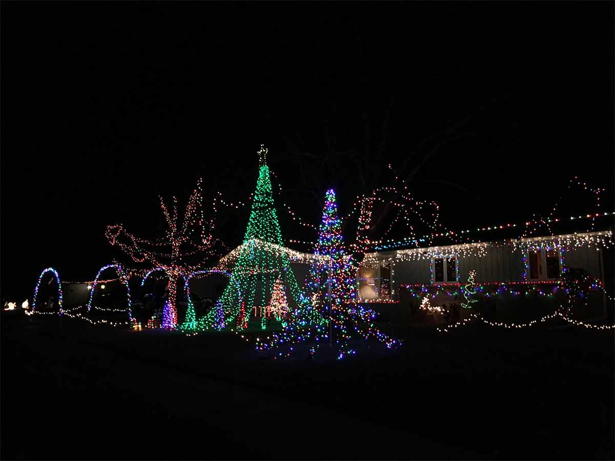 Christmas Lights in Oshkosh