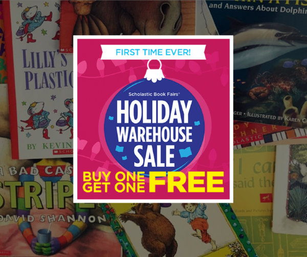 scholastic warehouse sale