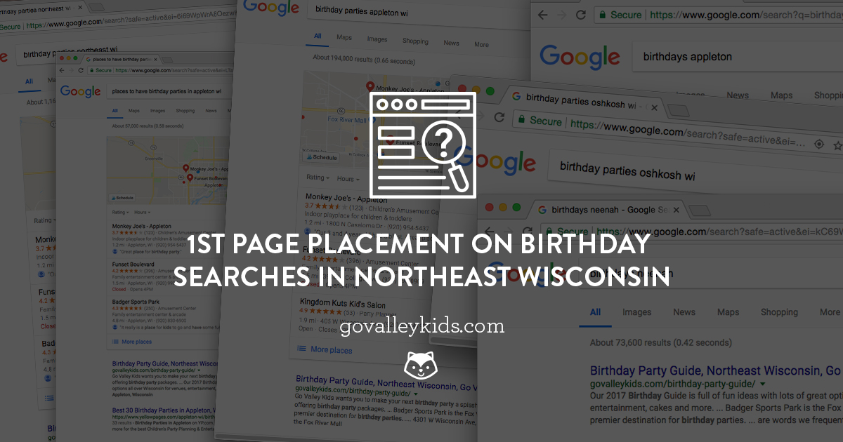 Advertise Birthdays Northeast Wisconsin