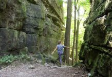 High Cliff State Park Hiking