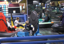 Bumper Cars at Funset Boulevard