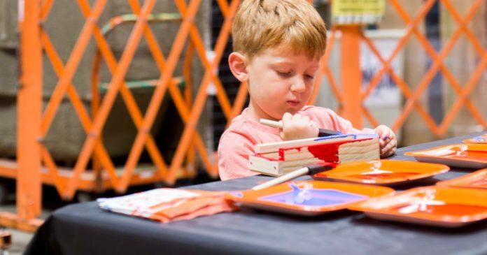 Home Depot Kids Workshops