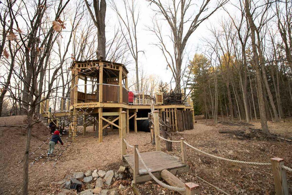 heckrodt natural playground menasha