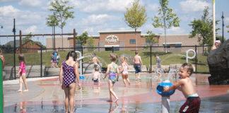 Sherwood Splash Pad Wanick Choute Park