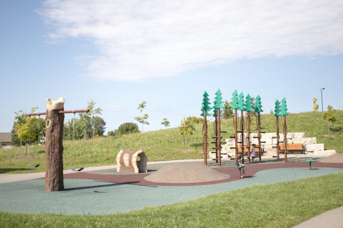 Sherwood Splash Pad / Wanick Choute Park