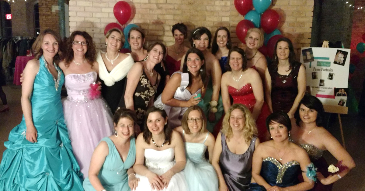 b7e17cb40e93 In Operation Cinderella's first year, 2015, the prom dress event helped 36  girls. By 2017, over 250 girls attended the prom dress event.