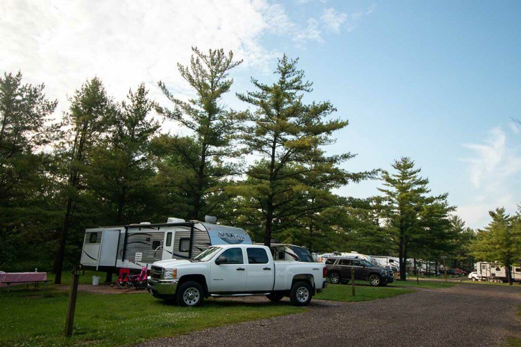 Wisconsin Camping with Kids
