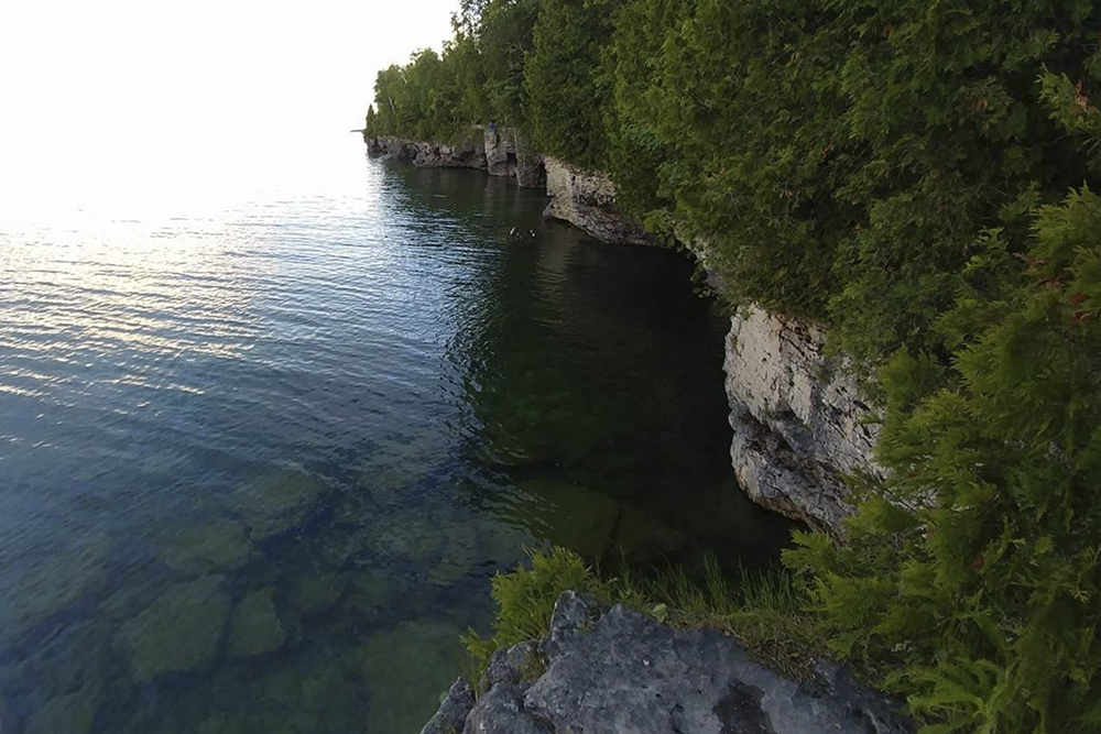 Cave Point County Park, Sturgeon Bay