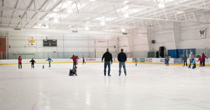 Ice Skating at Oshkosh YMCA