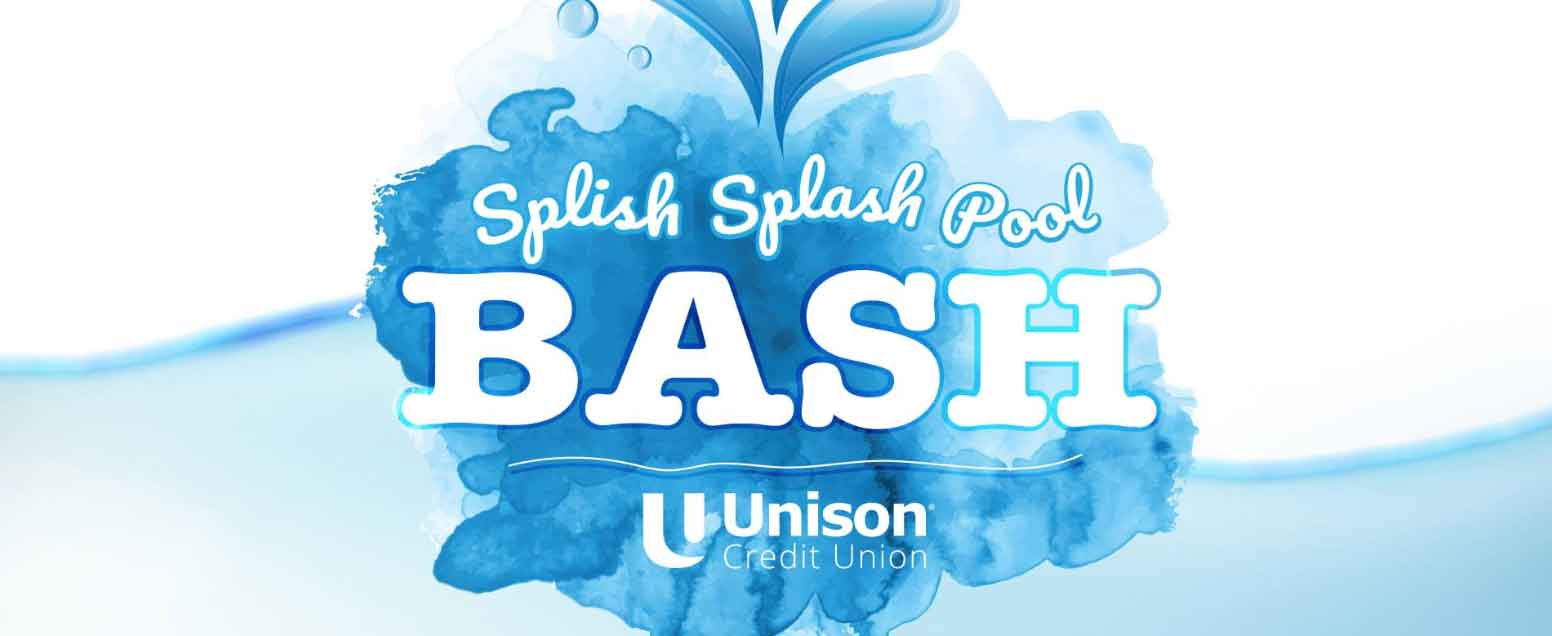 unison credit union splish splash pool bash