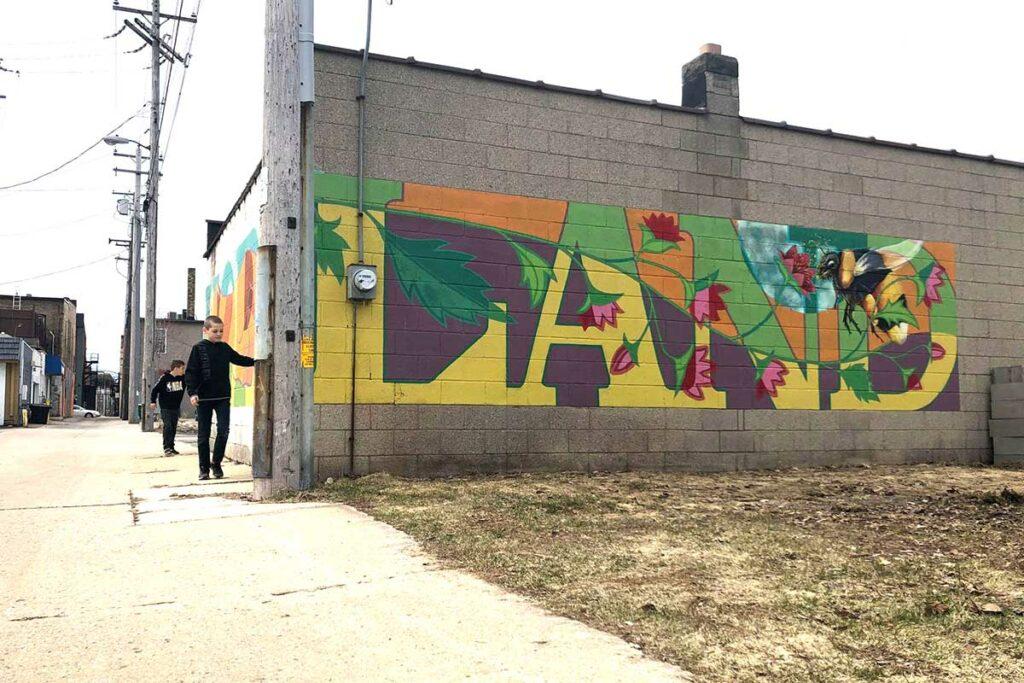 mural in green bay wisconsin