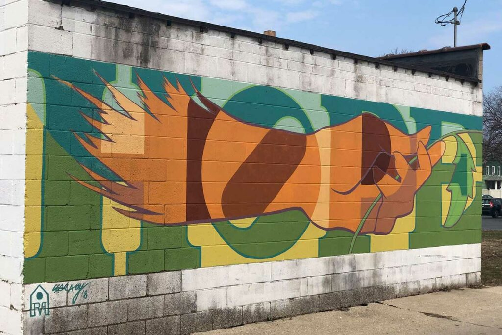 green bay murals