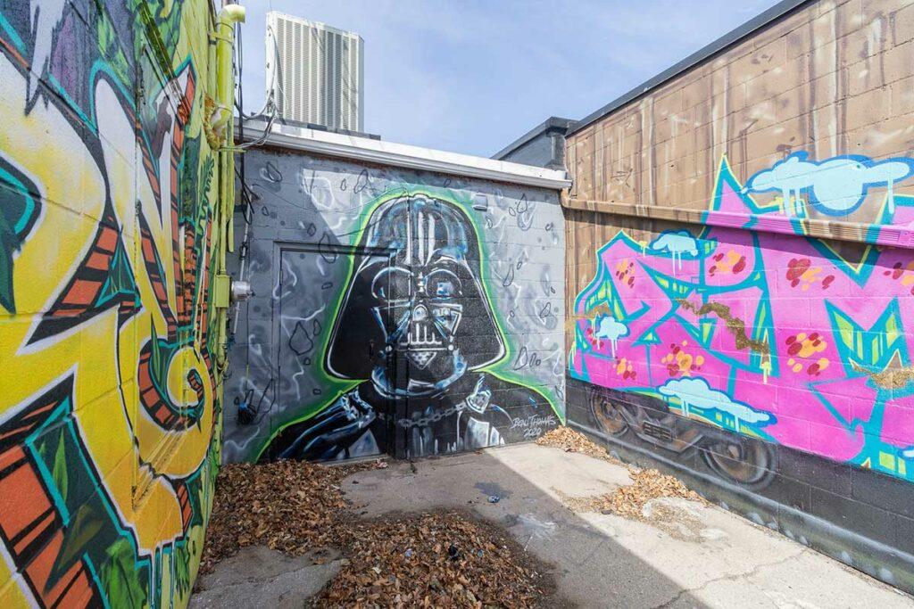 Star Wars Mural in Green Bay