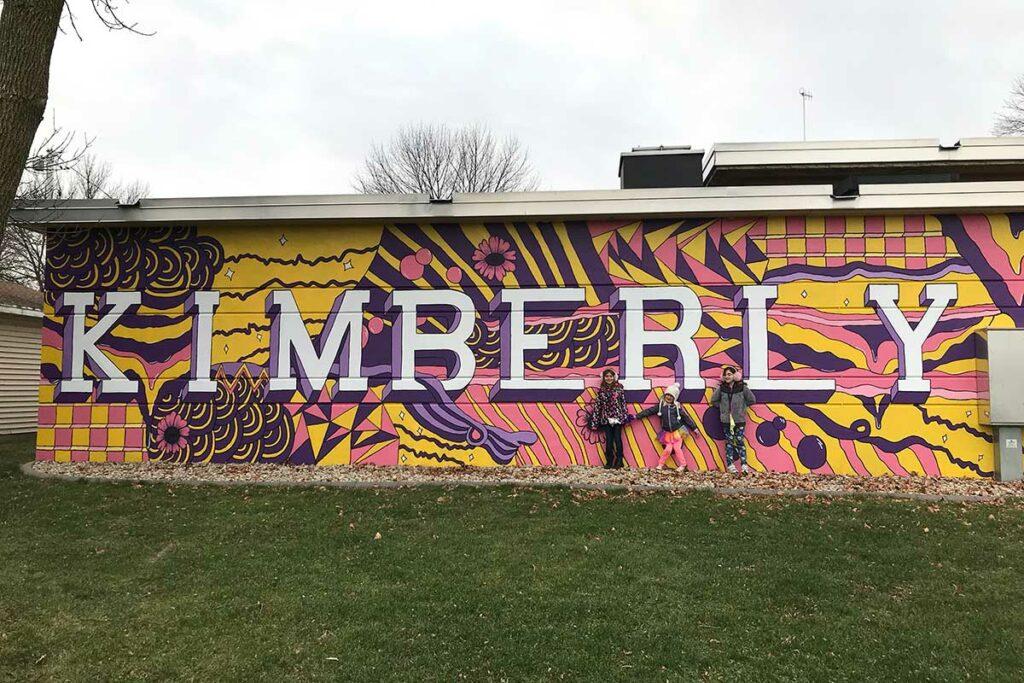 kimberly mural wisconsin
