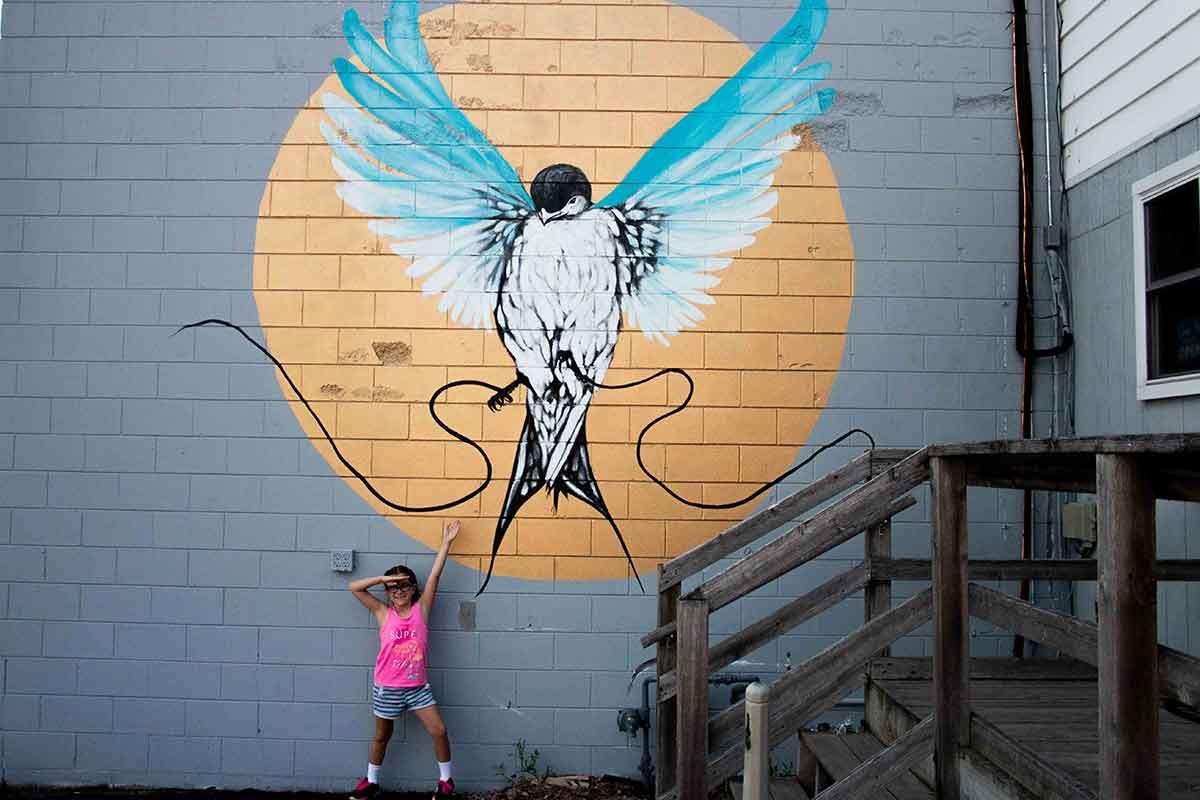 Seths Coffee Little Chute Mural
