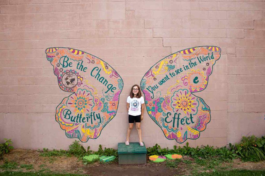 Green Bay Butterfly Mural
