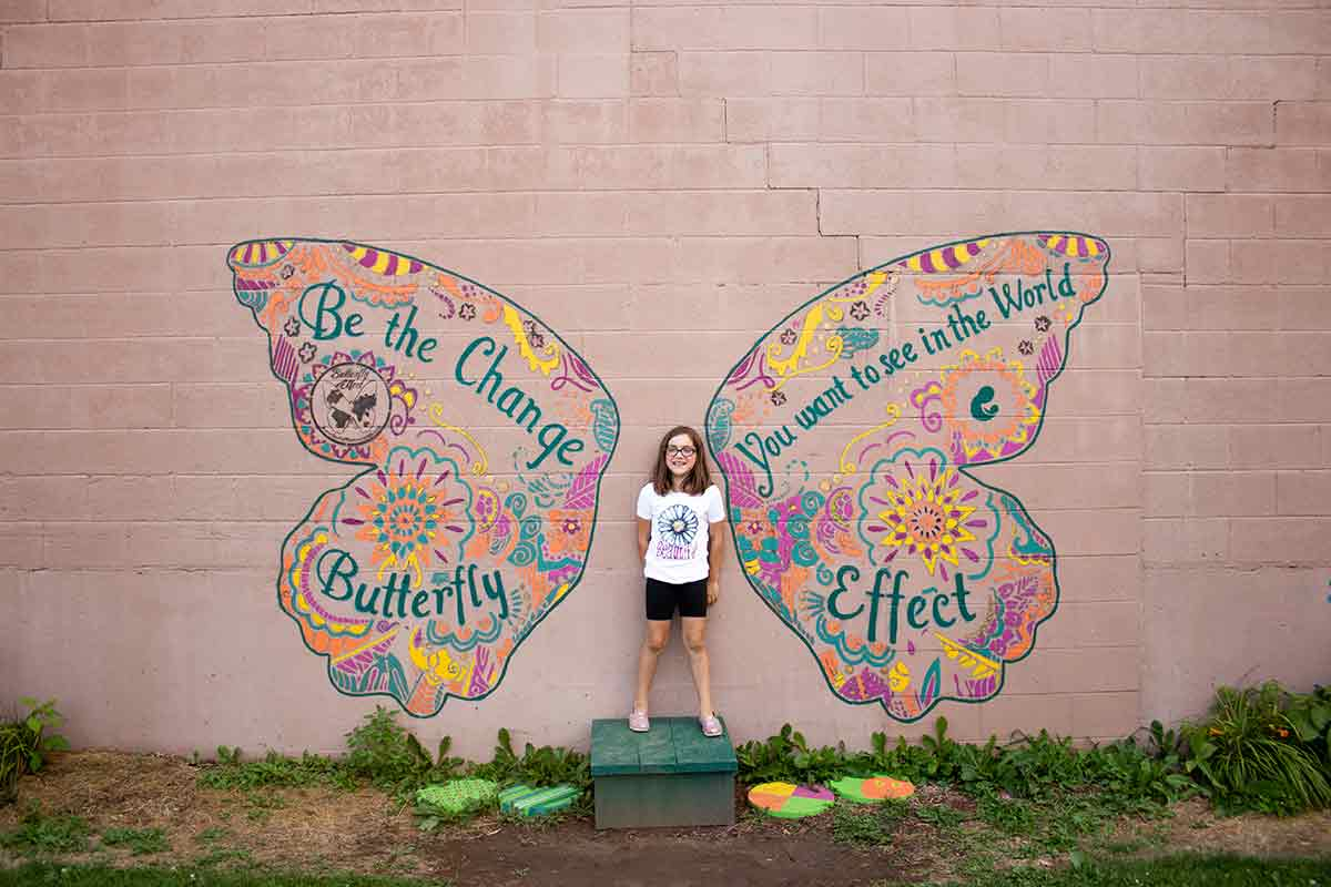 Green Bay Butterfly Mural