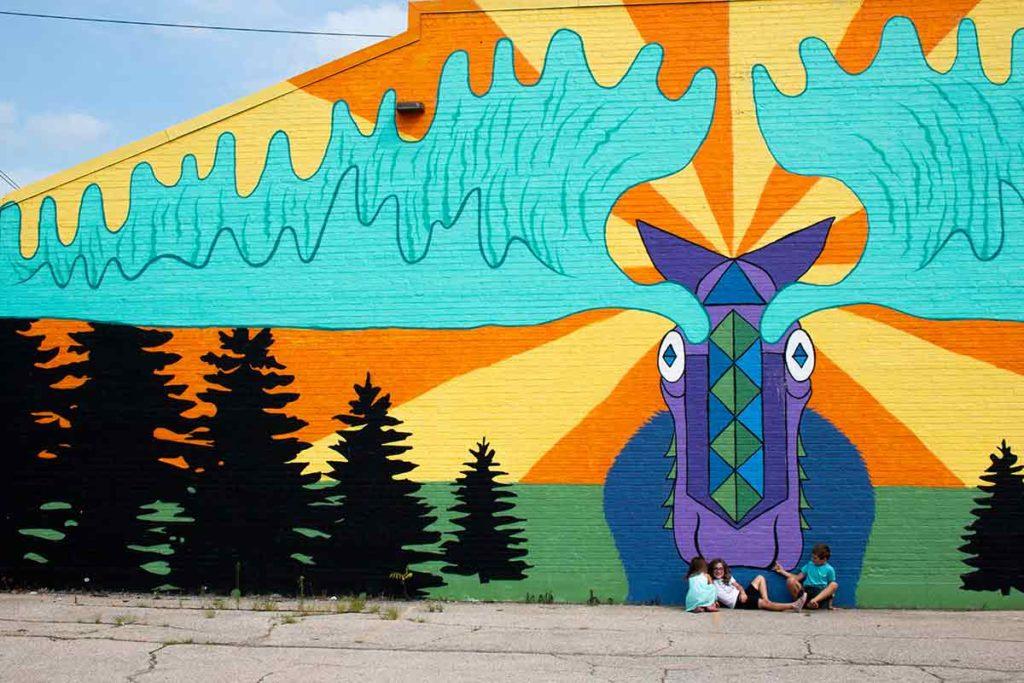 Mural Green Bay