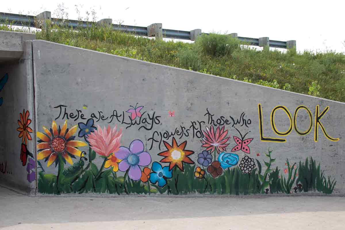 CE Underpass Murals, Kimberly