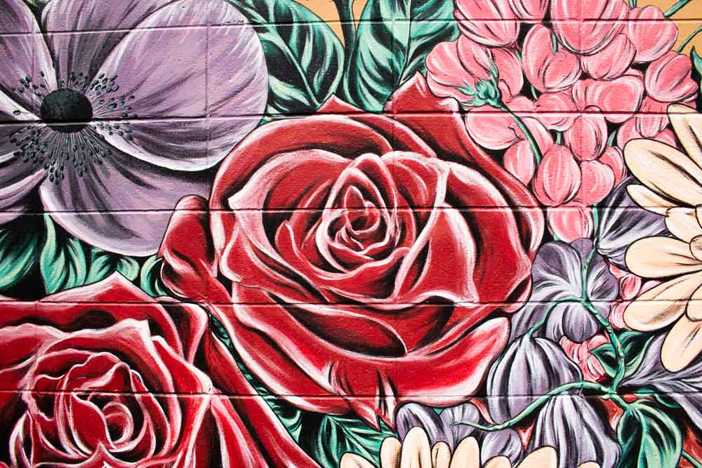 Charles the Florist Mural Appleton