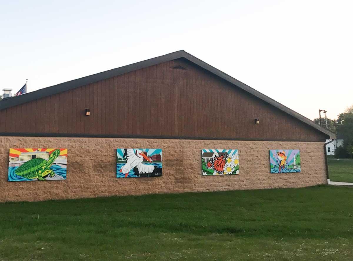 Washington Park Murals