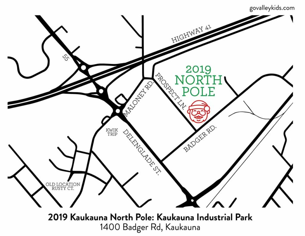 The North Pole Kaukauna New Location
