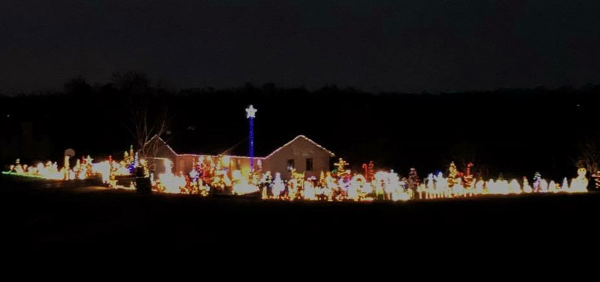 Christmas Lights in De Pere
