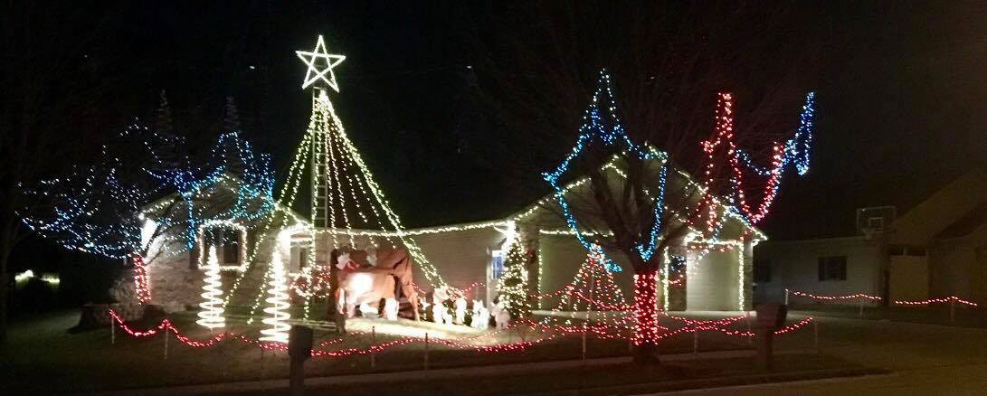 Hoover Ave 2018 Christmas Lights