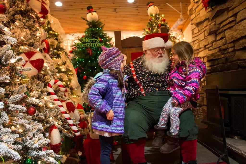 Oshkosh Celebration of Lights Santa